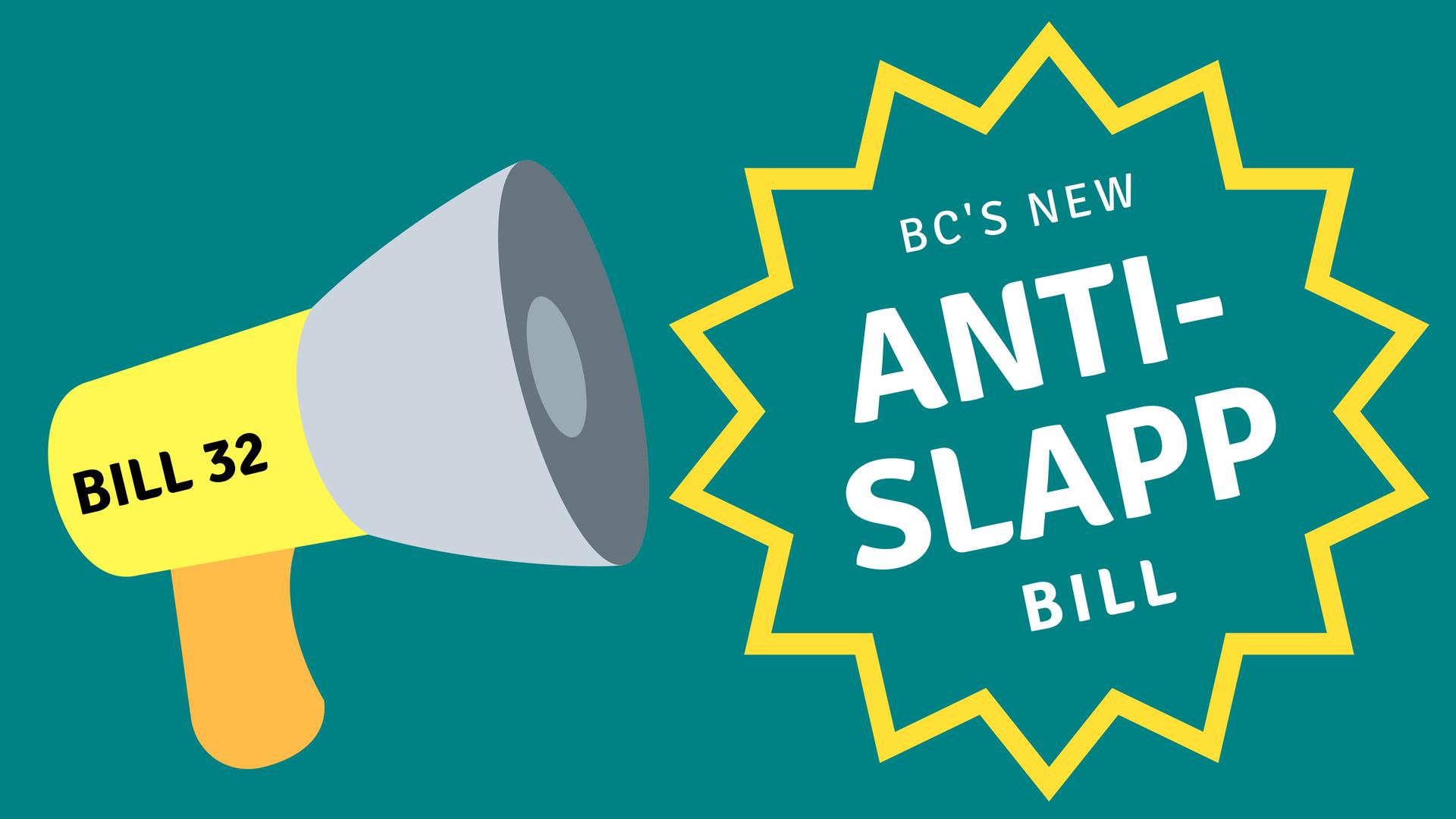 Anti-SLAPP law in BC