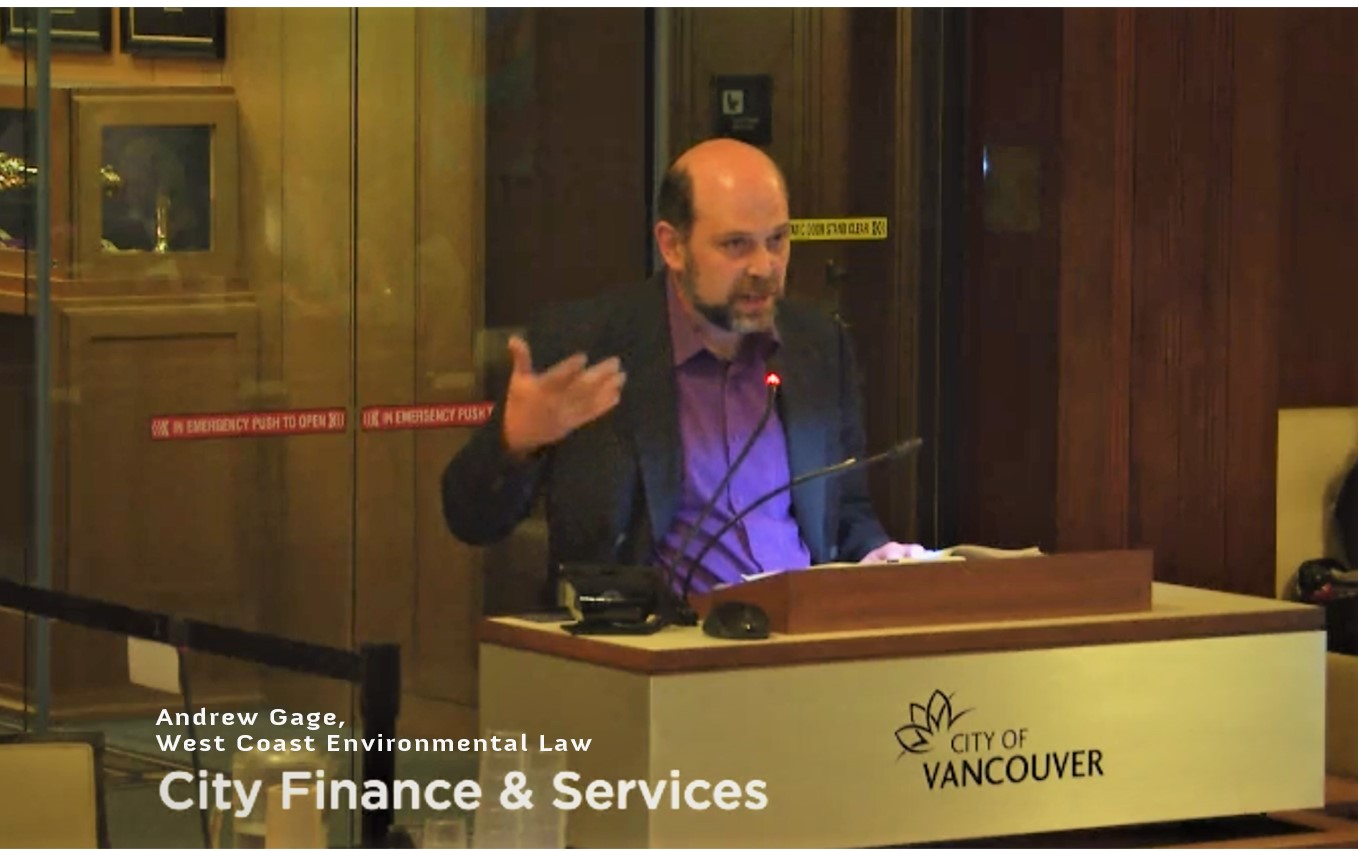 Vancouver Council heard before voting to hold fossil fuel companies accountable