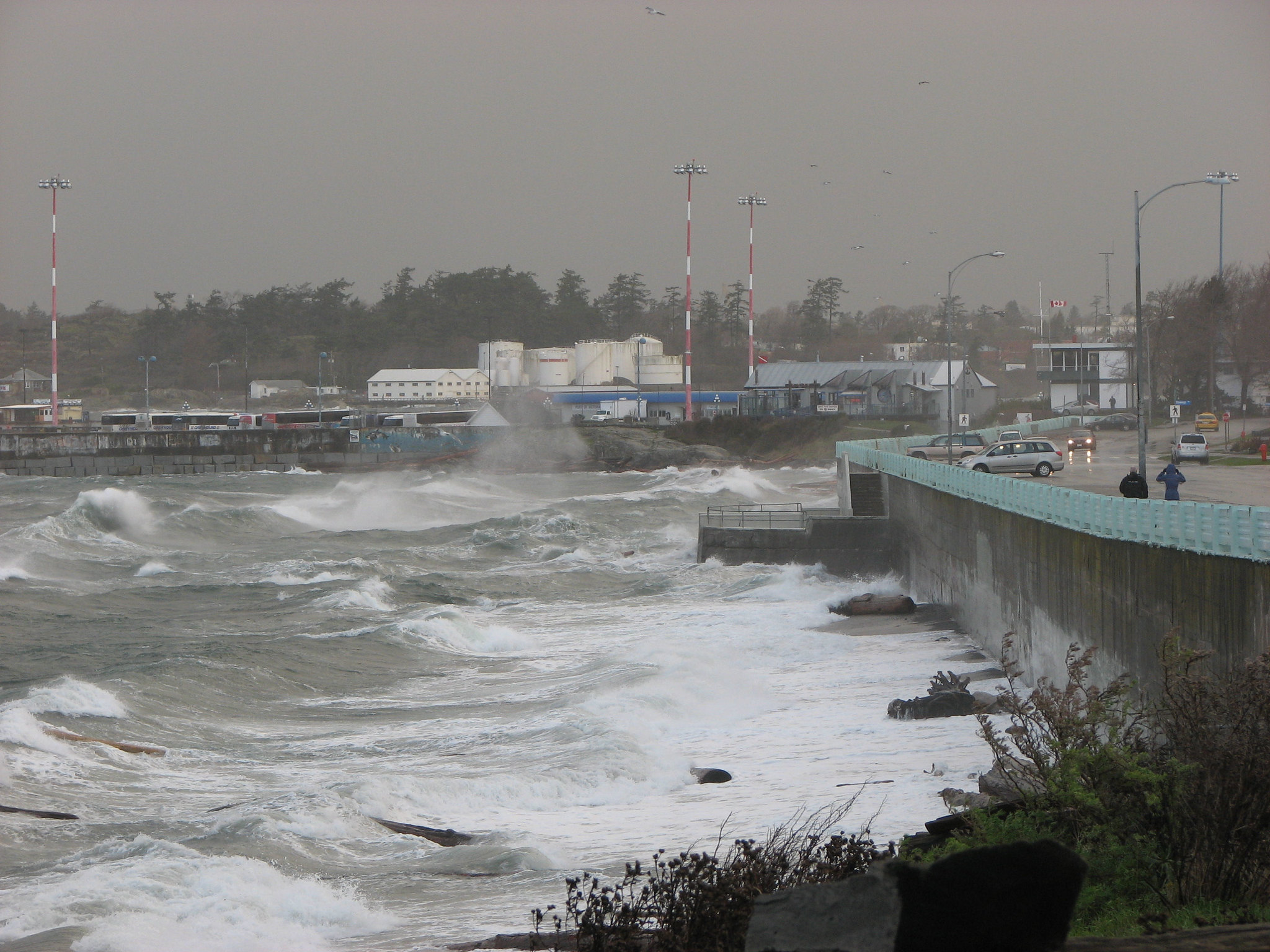 Coastal storm, Vancouver Island (Photo: Harold via Flickr)