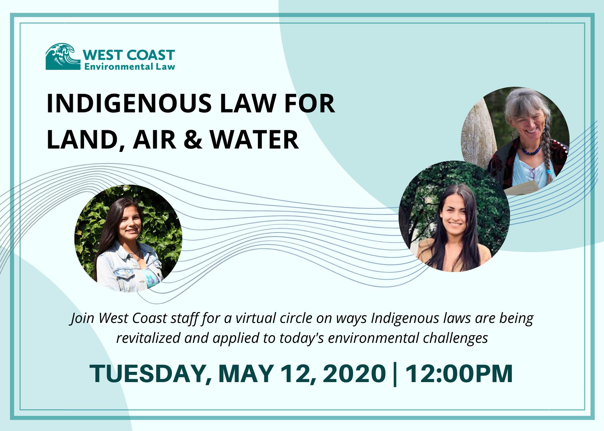 Indigenous Law Webinar