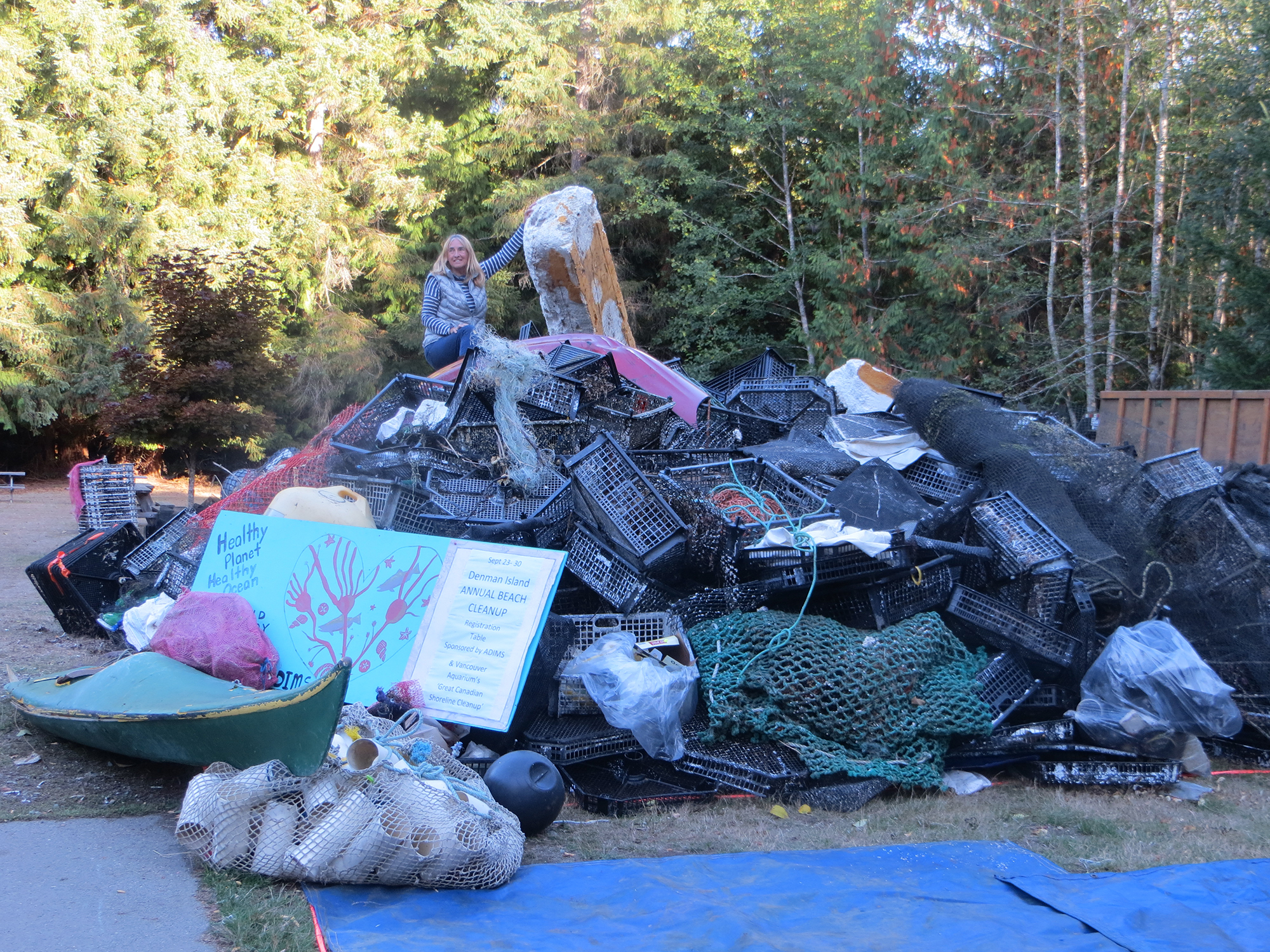 Denman Island Beach Cleanup