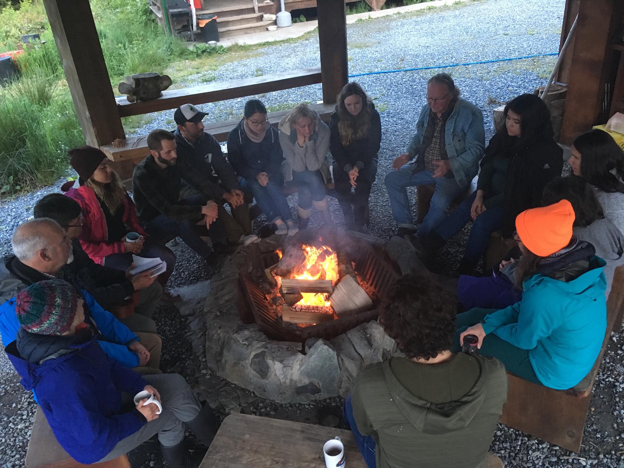 RELAW Retreat at Koeye (Photo: Georgia Lloyd-Smith)