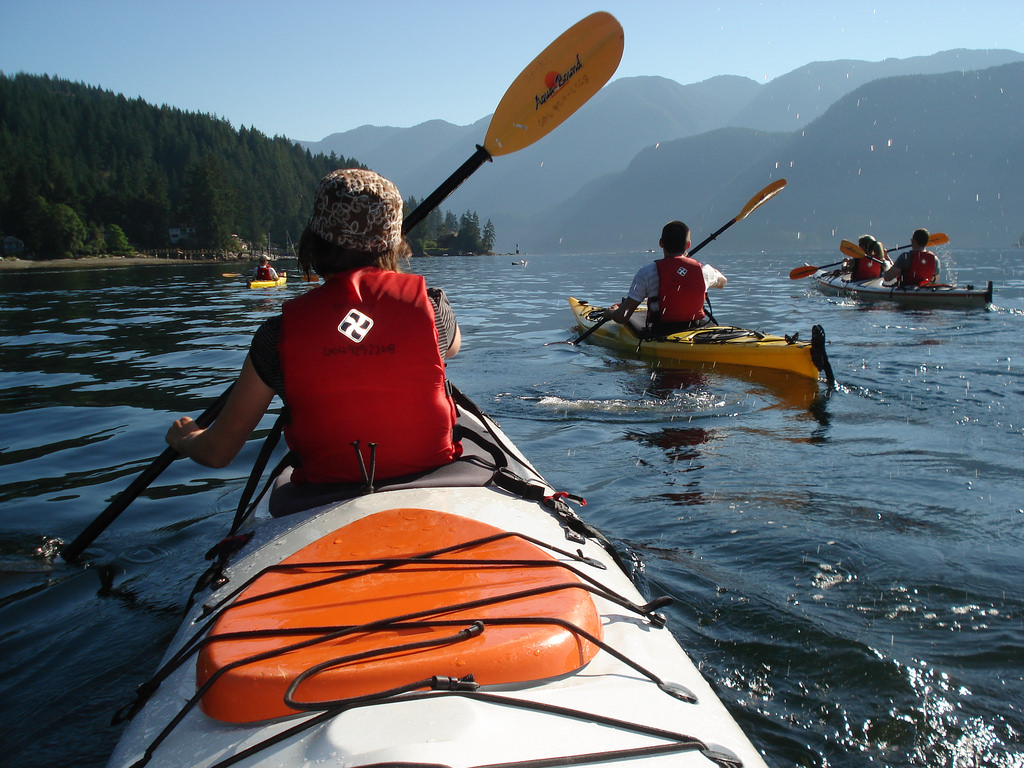 Arlen Tees - Kayaking Deep Cove