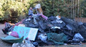 Denman Island Beach Cleanup