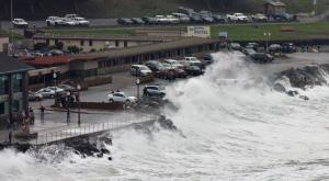 King tide in San Mateo County (Photo: Alan Grinberg)