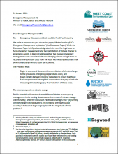 BC Emergency Management Joint Submission