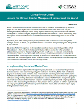 Caring for our Coast brief